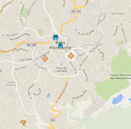 Mapa de BH
